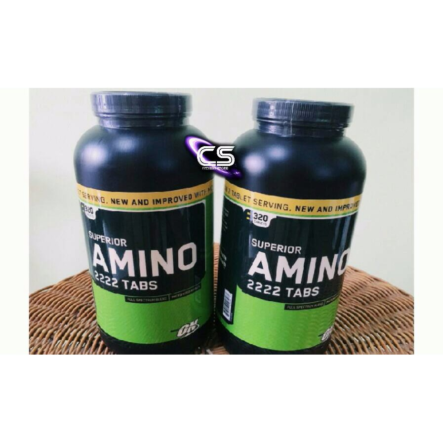 Optimum Nutrition Superior Amino 2222 Eceran 50 Tabs Daftar Harga On 320 100caps Repack Trial Size Shopee Indonesia
