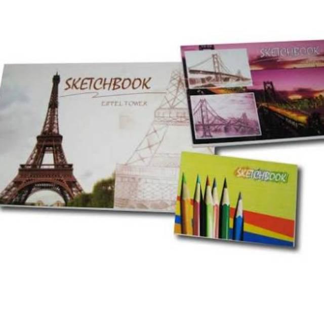 1 Buah Buku Sketsa Gambar Sketch Book A3 A4 A5 Isi 50 Lembar Shopee Indonesia