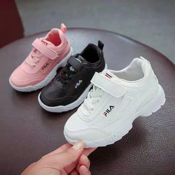Terlaris Sepatu Anak Sneakers Perempuan Laki Laki Eo6rl4 Sepatu