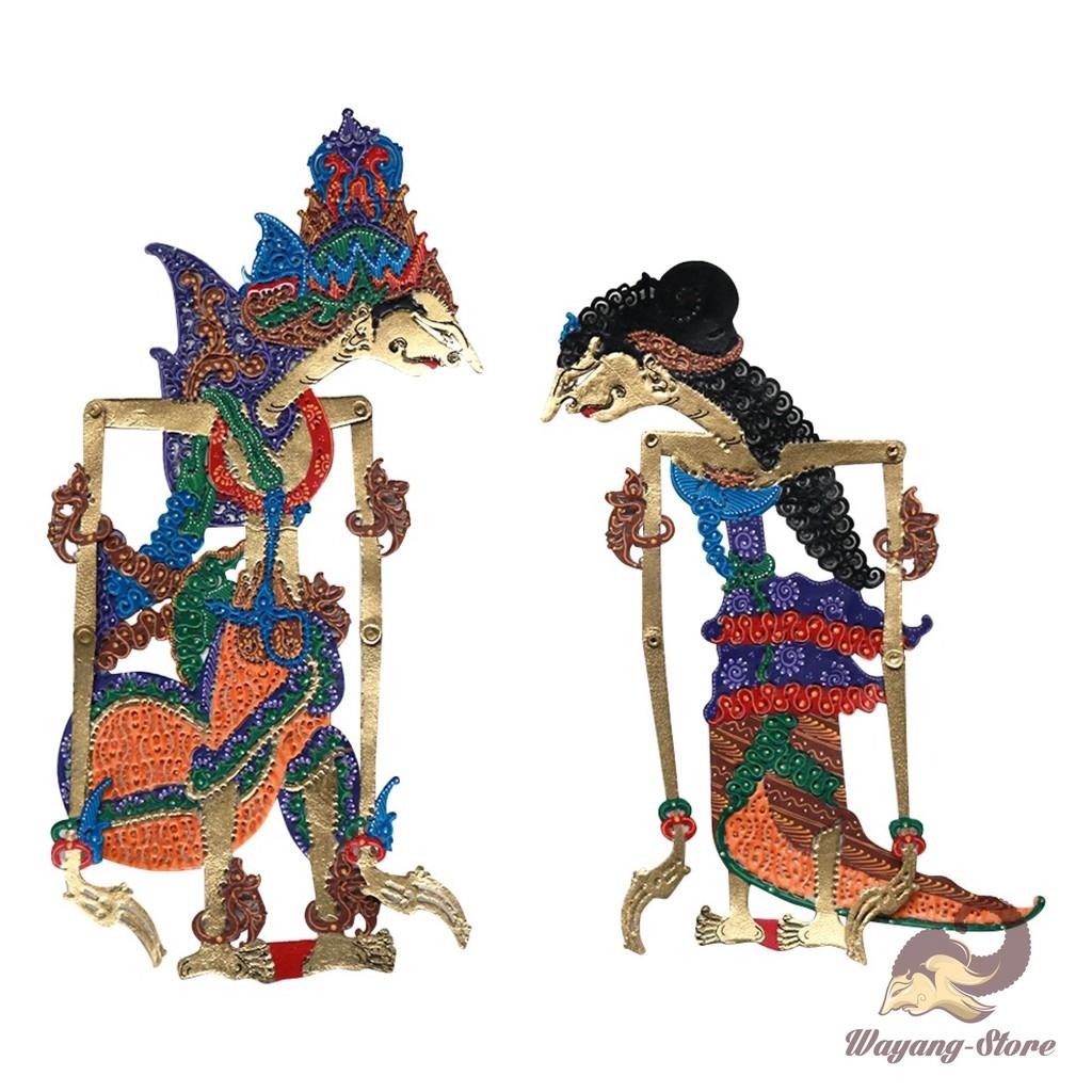 Wayang Kulit Rama Shinta Mahar 25 Cm