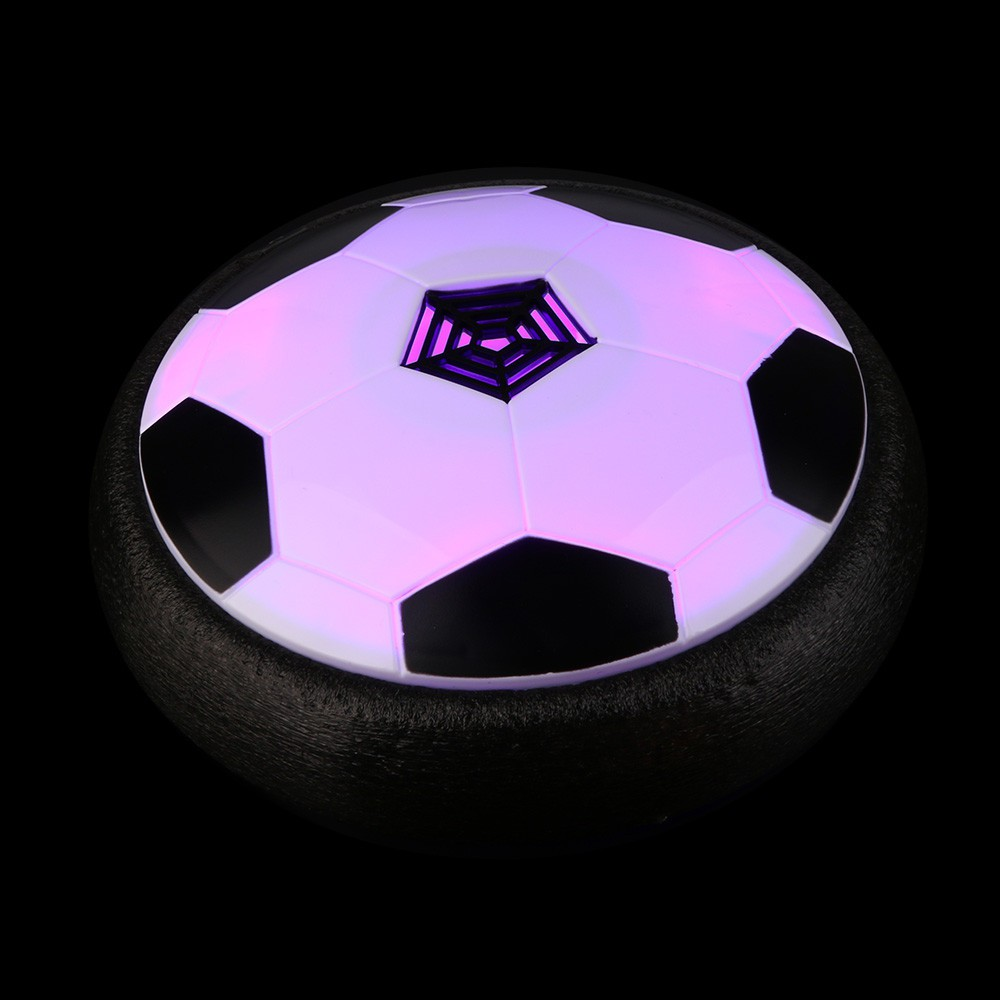Fun LED Air Power Training Ball Soccer Football Goal Set Hover Ball With 2 Gates