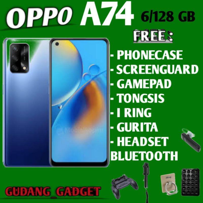 OPPO A74 5G & 4G 6/128 RAM 6GB ROM 128GB GARANSI RESMI