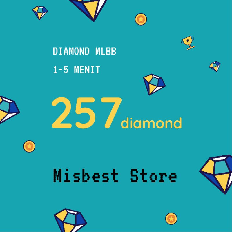 257 Diamond Mobile Legends Murah Meriah