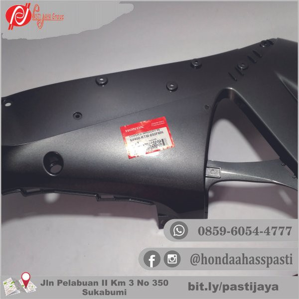 Cover Sayap Kanan Supra X 125 - 2005cover R M P Agry Kode 64400ktm850fmn Ahm Hgp Body Part