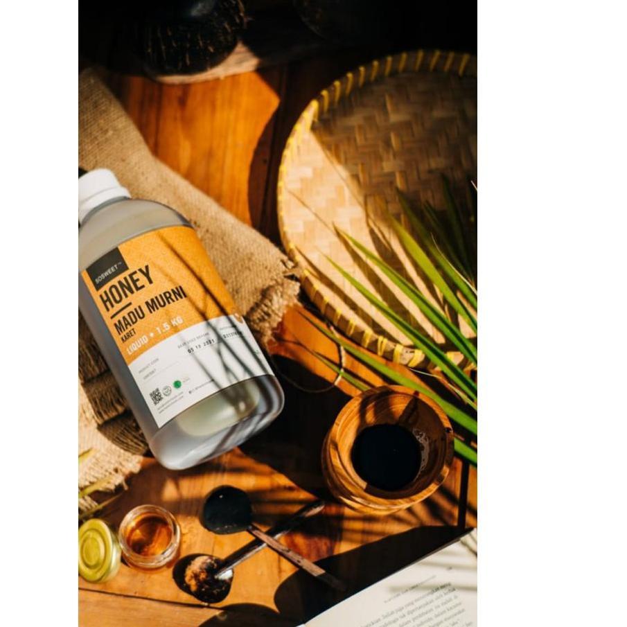 Qq 793 Bisa Cod Madu Murni Karet Hevea Honey 1 5 Kg By Haldin Foods Shopee Indonesia