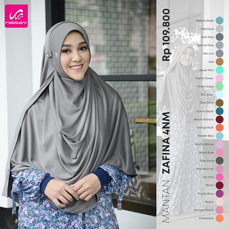 Rabbani Pashmina Instan Mantan Zafina 4nm Shopee Indonesia