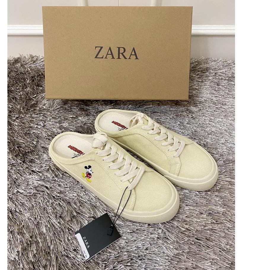 Premium Zara 919 White Shoes Disney Shopee Indonesia