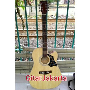 Gitar Akustik Jumbo Cort Blackdoff Trusrod BONUS SENAR CADANGAN DAN PICK Jakarta Murah