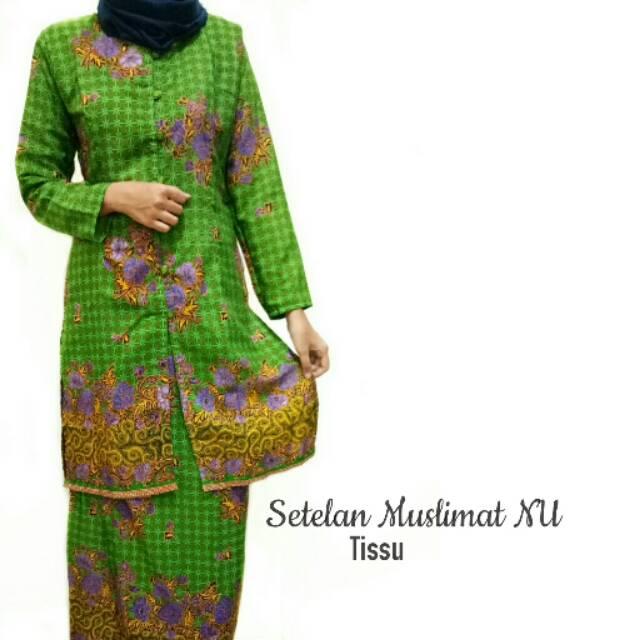 Setelan Batik Muslimat Nu