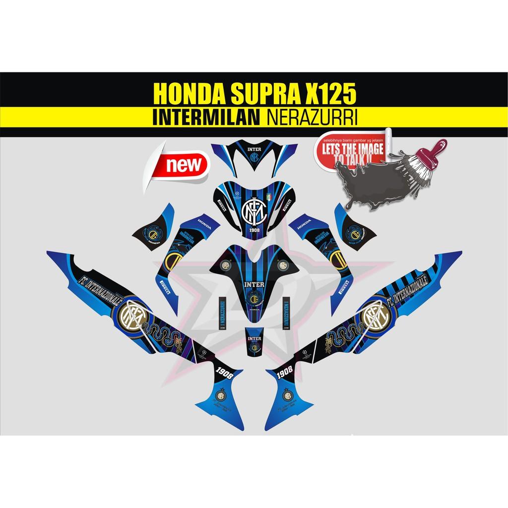 sticker striping sticker motor supra x 125 full body Qlty.A akatsuki   Shopee Indonesia
