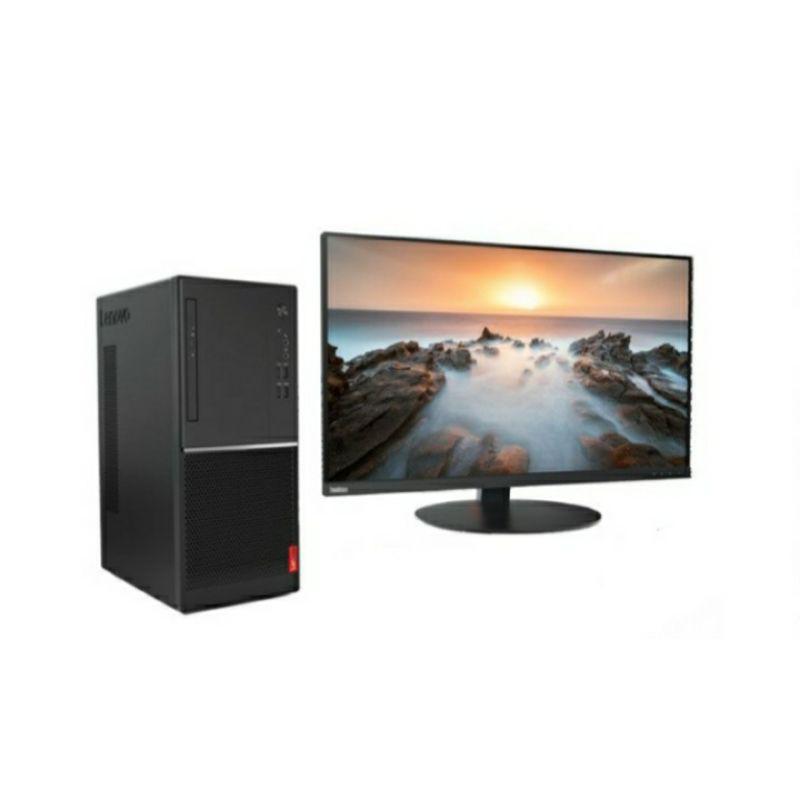 "Lenovo V55T 15API AMD Ryzen 5 3400G Vega 11 1TB HDD Windows 10 Home + Monitor LED 21.5"" (kerja/game)"