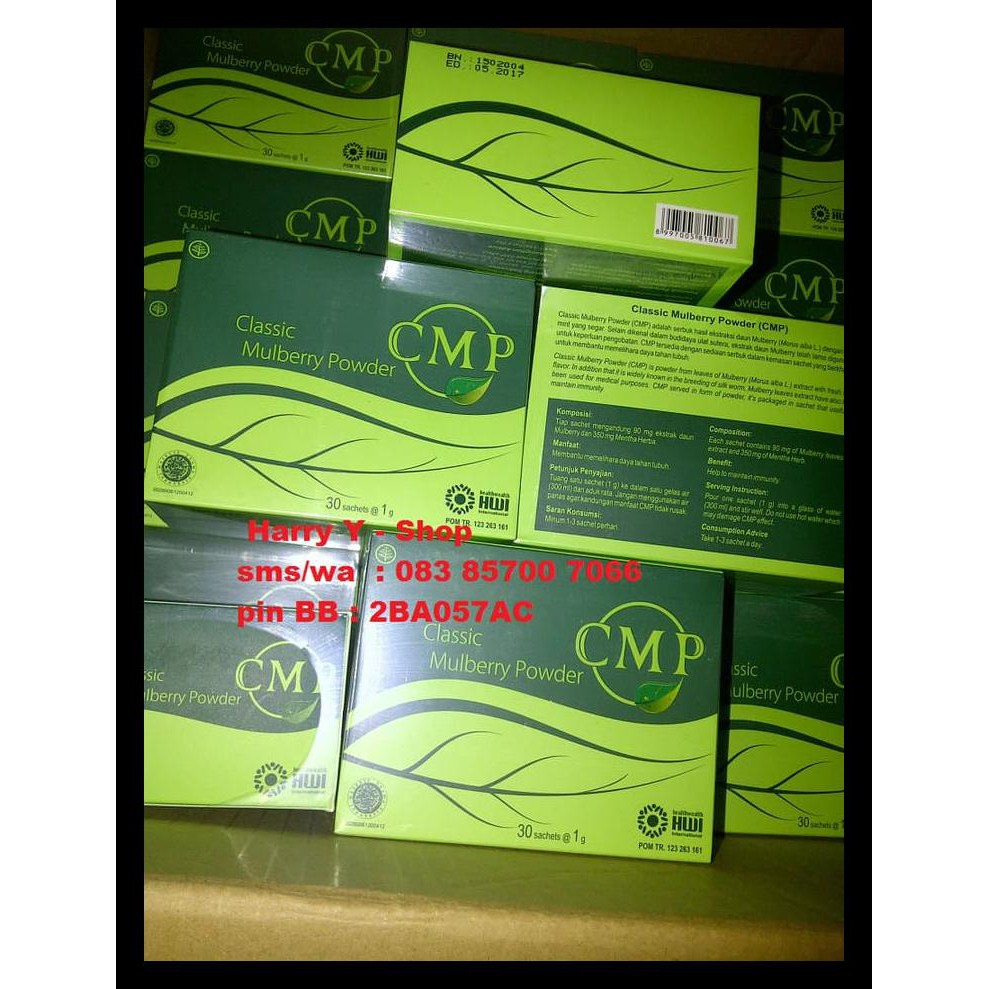 Produk Baru Cmp / C M P / Classic Mulberry Powder Asli Pt.Hwi New | Shopee