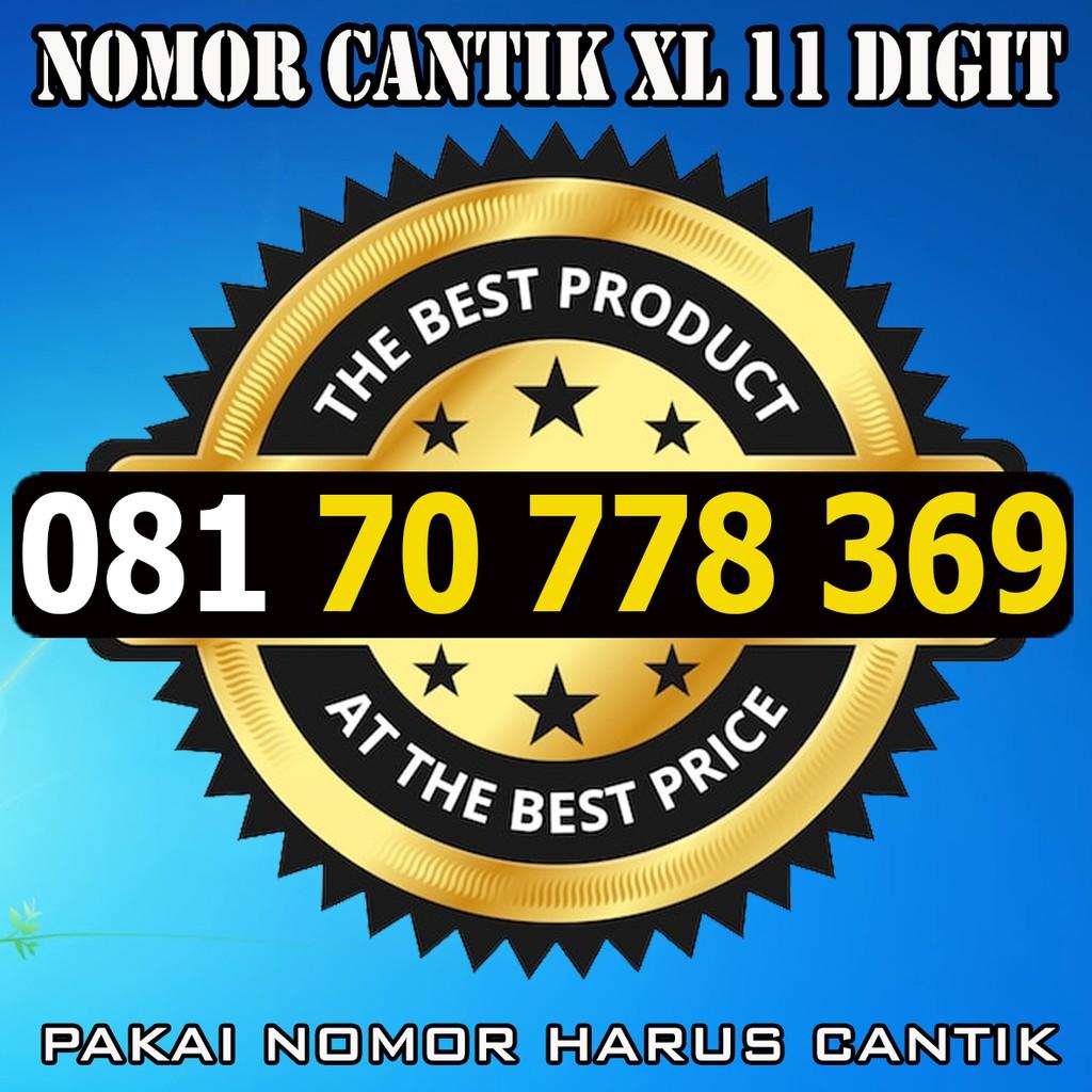 Nomor Cantik Pasangan Hoki 777 6868 Nomor Cantik Simpati Indosat XL   Shopee Indonesia