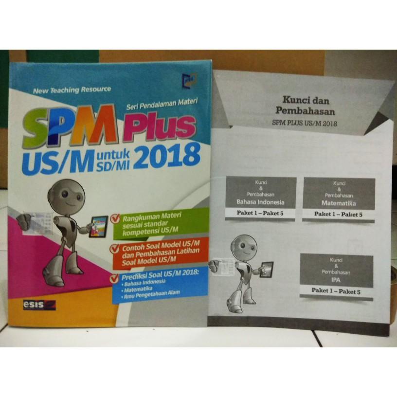 Buku Spm Plus Sd 2018 Us M Kunci Jawaban Shopee Indonesia