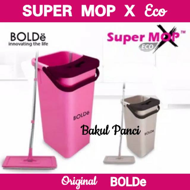 KiozOrenz Super MOP X Eco Original BOLDe Supermop Eco SupermopX Economic Pel Ember Bolde Original | Shopee Indonesia