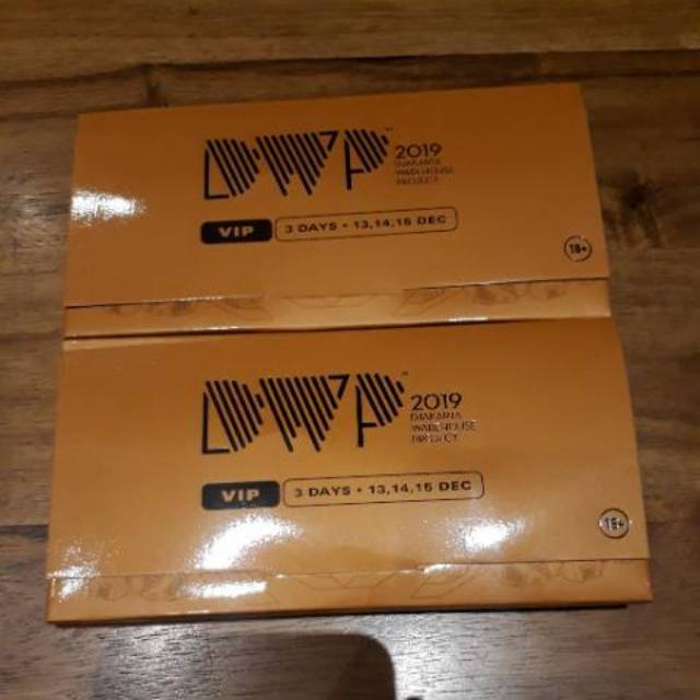 Tiket Dwp 2019 Vip 3 Days Pass Shopee Indonesia