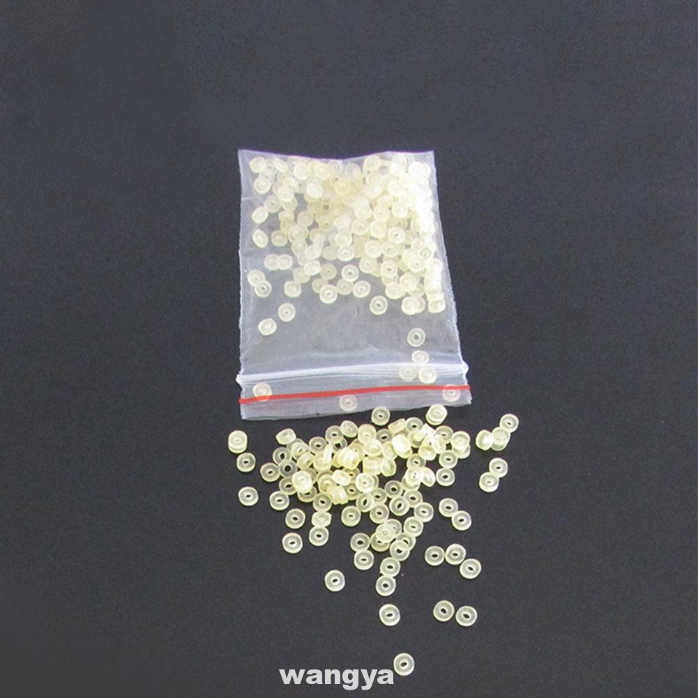 200 yellow rubber pellets for 2-12mm fishing pellets fishing tool