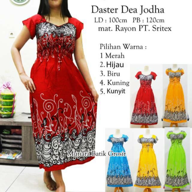 Daster dea Jodha Motif Bali  110c0a1a85