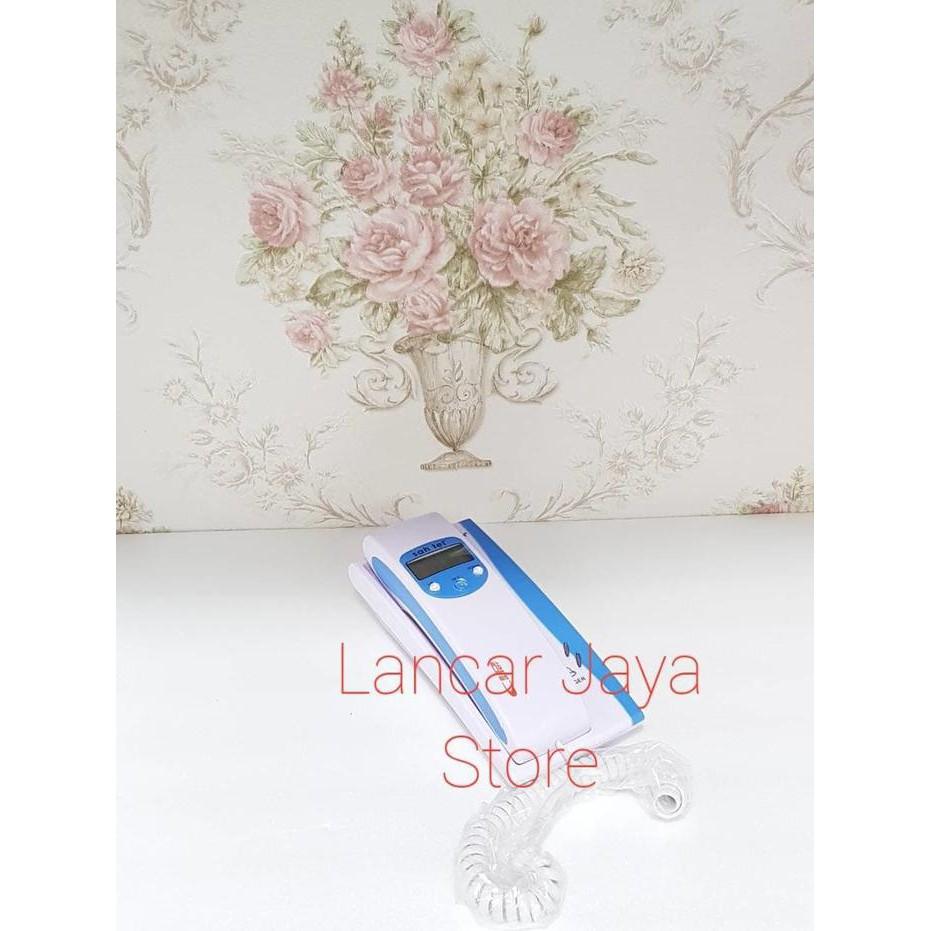 Sahitel S71 Telephone Single Line Telepon Putih Daftar Harga S21 Kabel White Rumah Kantor Shopee