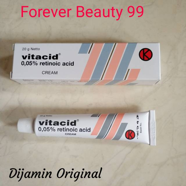 Vitacid 0,05 % Cream / Tretinoin 20gr