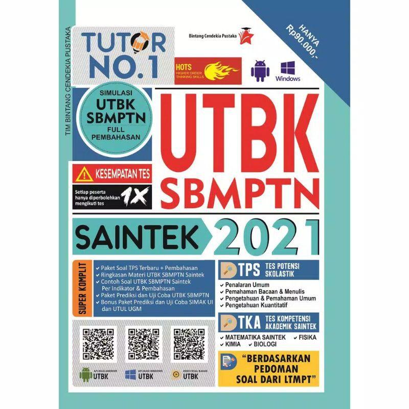 Buku Utbk Sbmptn Saintek 2021 Shopee Indonesia
