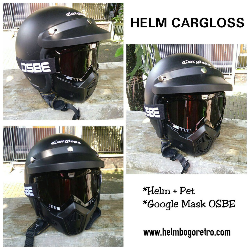 Terlaris Helm Cargloss Mxc Moto Sport Shopee Indonesia Motosport Motocross Orange Deep Black Size Xl