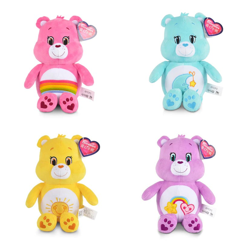 Message Recorder Stuffed Animals, Free Ongkir 4pcs Lot Care Bears Plush Toys 30cm Lovely Care Bears Animals Plush Doll Toy Soft Shopee Indonesia