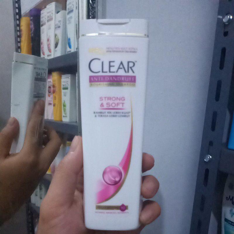 [Original] Shampoo Clear Anti Dandruff Sakura Fresh 170Ml-Strong & soft