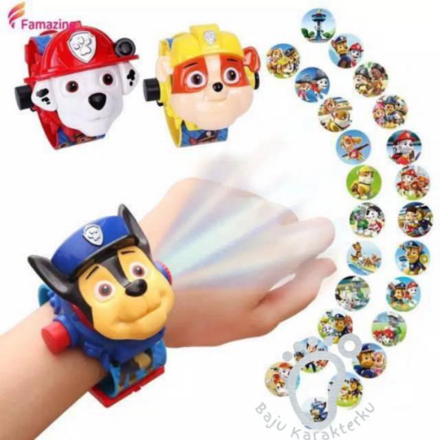 jam tangan proyektor paw patrol  shopee indonesia