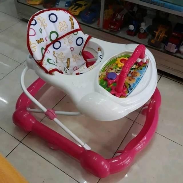 Baby Walker Family FB 136 Warna Pink-Putih / Biru-Putih ...