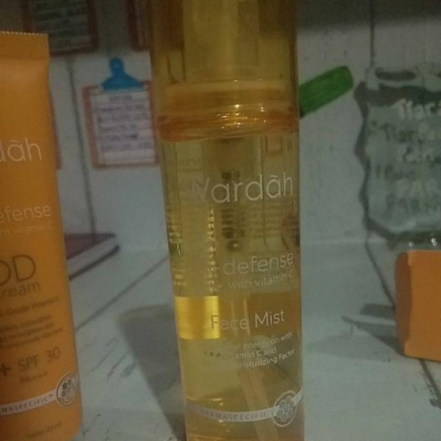 Natura Beauty Spray Produk Dari Mana: ORIGINAL Wardah C Defense Face Mist Spray Semprot Make Up