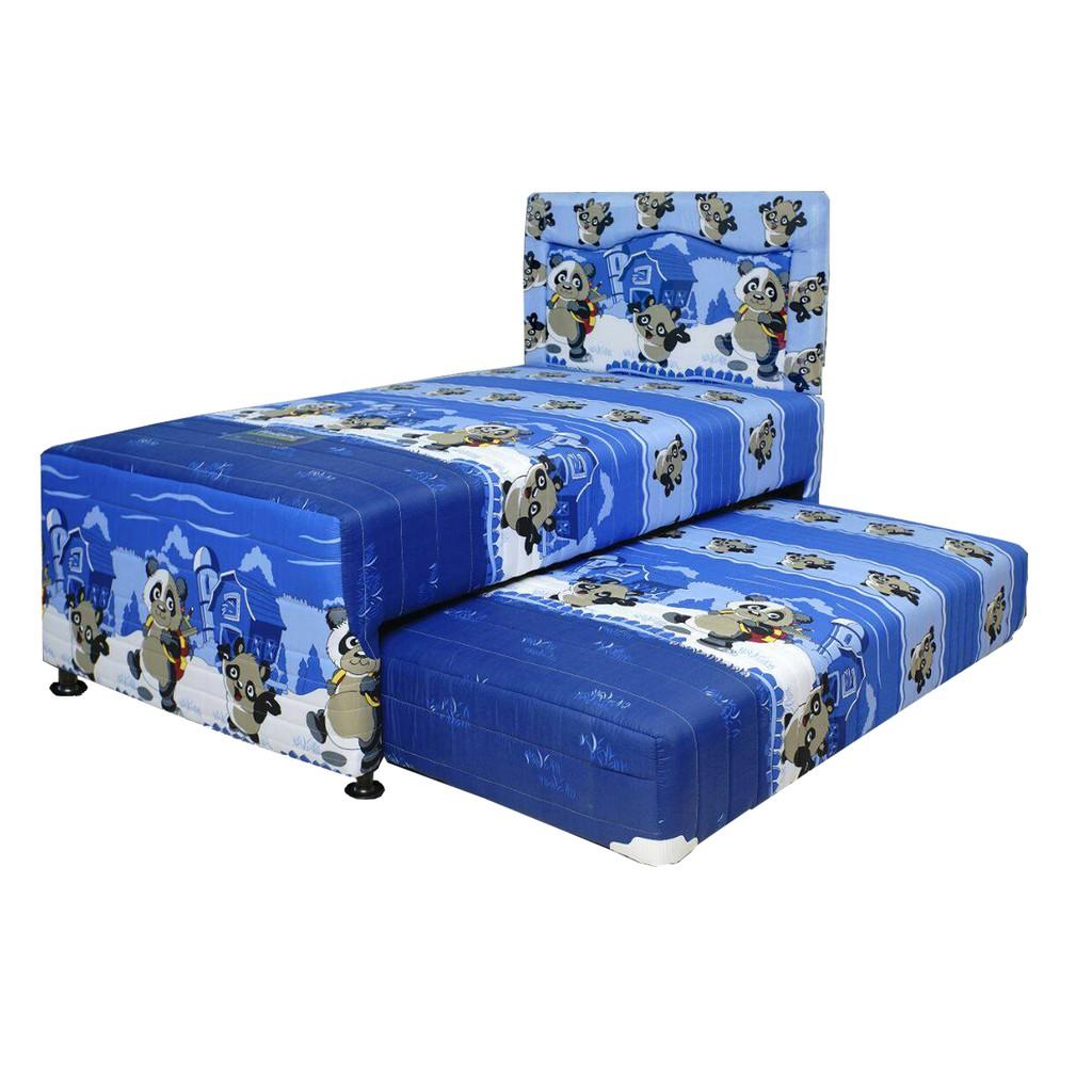 Spring Bed Anak 2in1 100x200cm London Paradise Edisi Khusus Kasur Uniland Single Pillowtop Sofia 90x200 Tanpa Divan Sandaran Jadebotabek Only Exclusive Shopee Indonesia