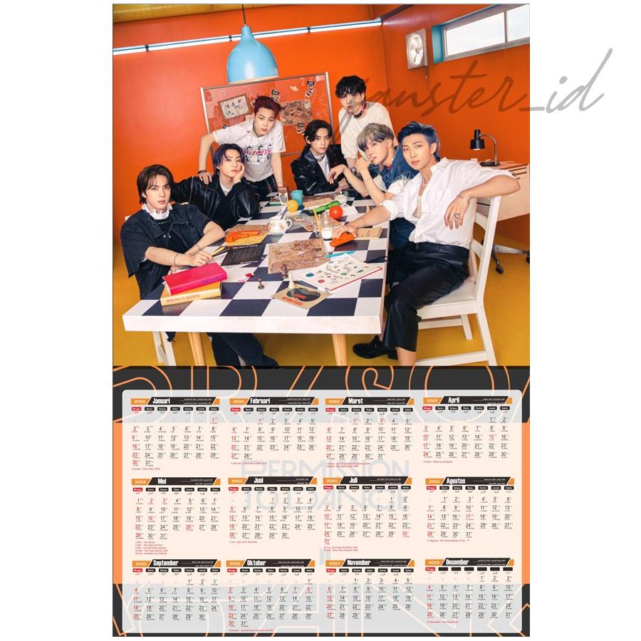 Kalender Poster BTS Tahun 20   Shopee Indonesia