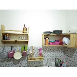 Furniture Store Lemari Rak Kitchen Set Dinding Siku Kayu Jati