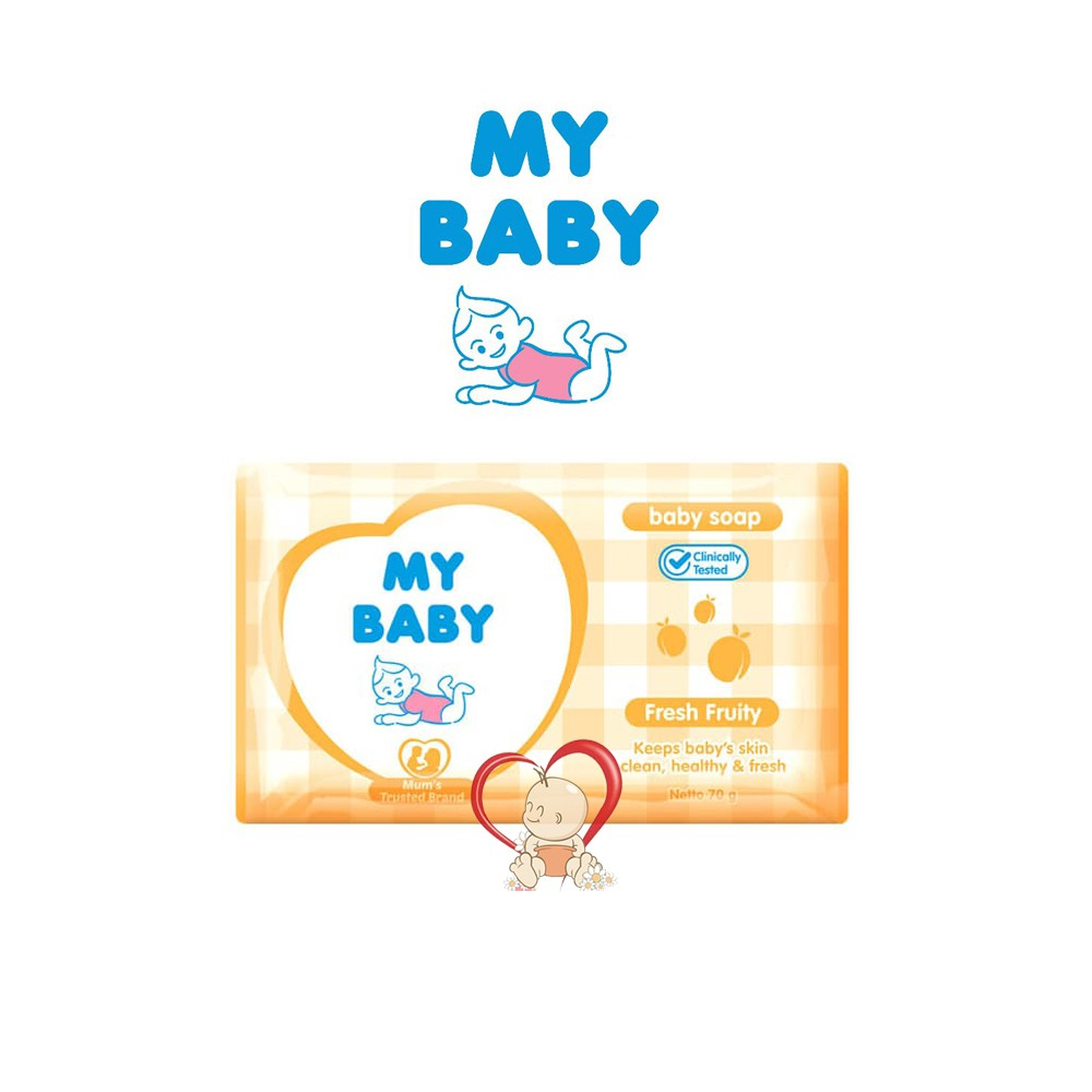 My Baby Soap Bar Sabun batang - 60 gr