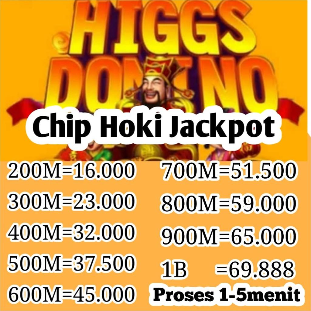 Hoki  Chip Domino Higgs Island Jackpot