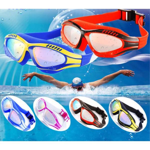 Kacamata Renang Anak HD Anti Kabut Bahan Silikon  42b0f94bfe