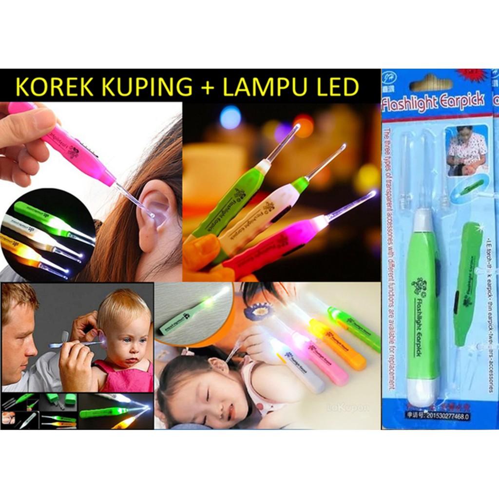 Jual Beli Produk Mulut Telinga Perawatan Diri Kesehatan Flashlight Earpick Korek Kuping Led Nyala Shopee Indonesia