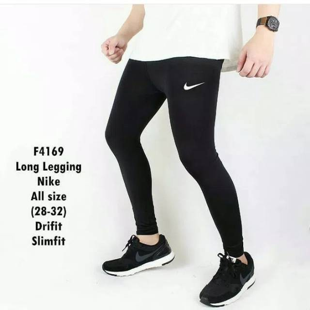 Celana Legging Baselayer Sport Nike Training Futsal Shopee Indonesia