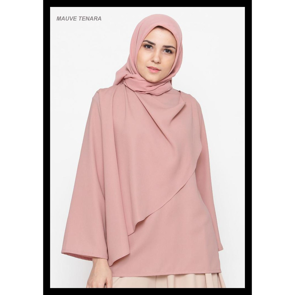 Baru Moschino Shirt Wanita Shopee Indonesia Cottonink Floral Harriet Navy M