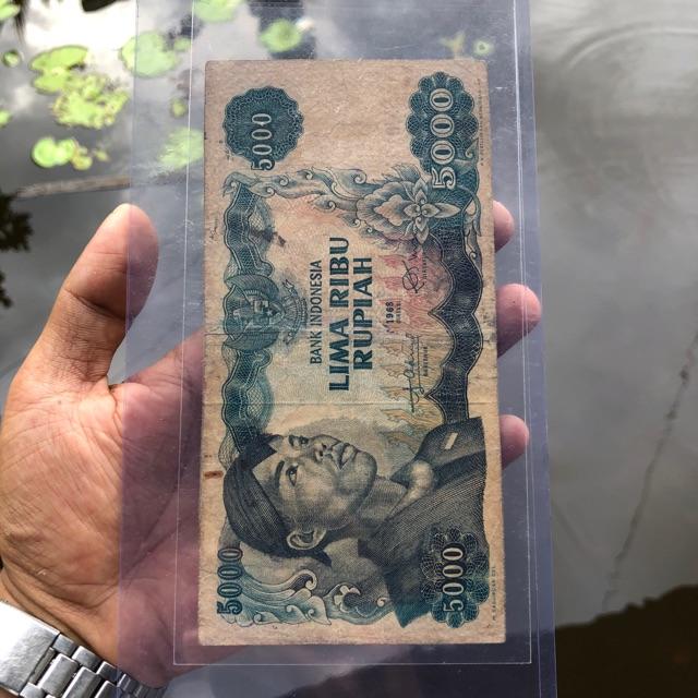 Uang Kuno 5000 Sudirman VF 01