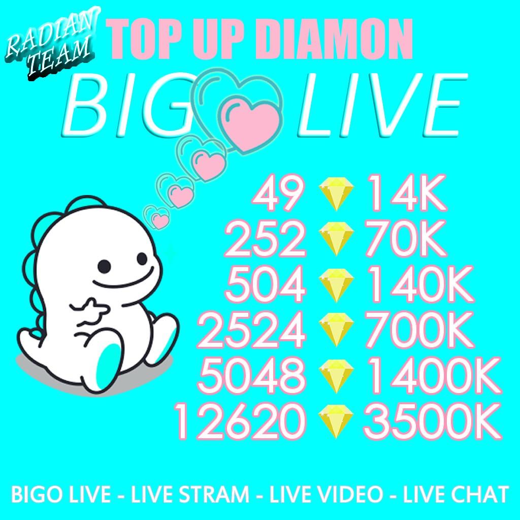 TOPUP DIAMOND BIGO LIVE TERMURAH