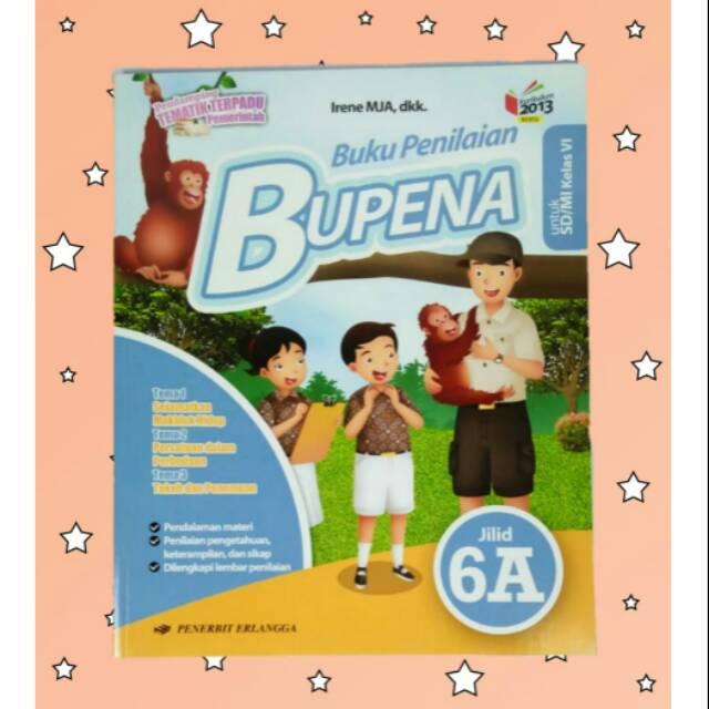 Bupena Jilid 6a Untuk Sd Mi Kelas 6 Shopee Indonesia