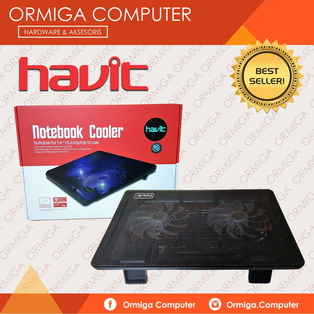 Cooling Pad Gaming Crimson Shopee Indonesia Warwolf Notebook Cw7