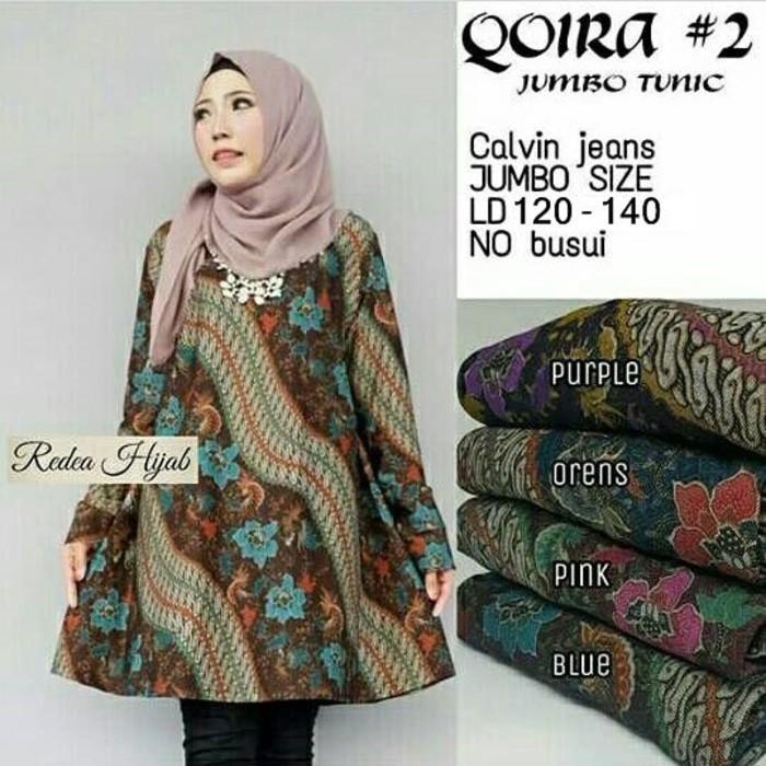 Dapatkan Harga atasan Tunik Blouse Batik   Kebaya Diskon  1b053688d8