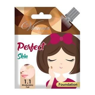 KKV - Vienna Beauty Perfect Skin Foundation 1.1 Moderately Fair 15g sachet thumbnail