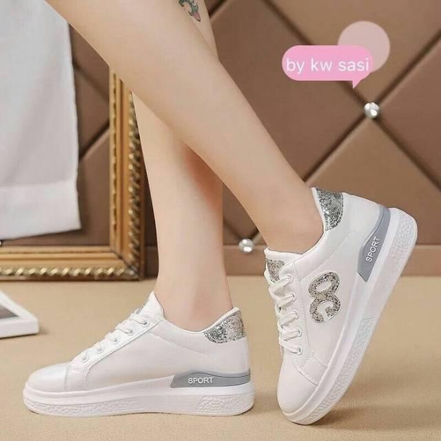 Sepatu Wanita Sneakers Sepatu Tali Wanita Sepatu Olahraga Murah