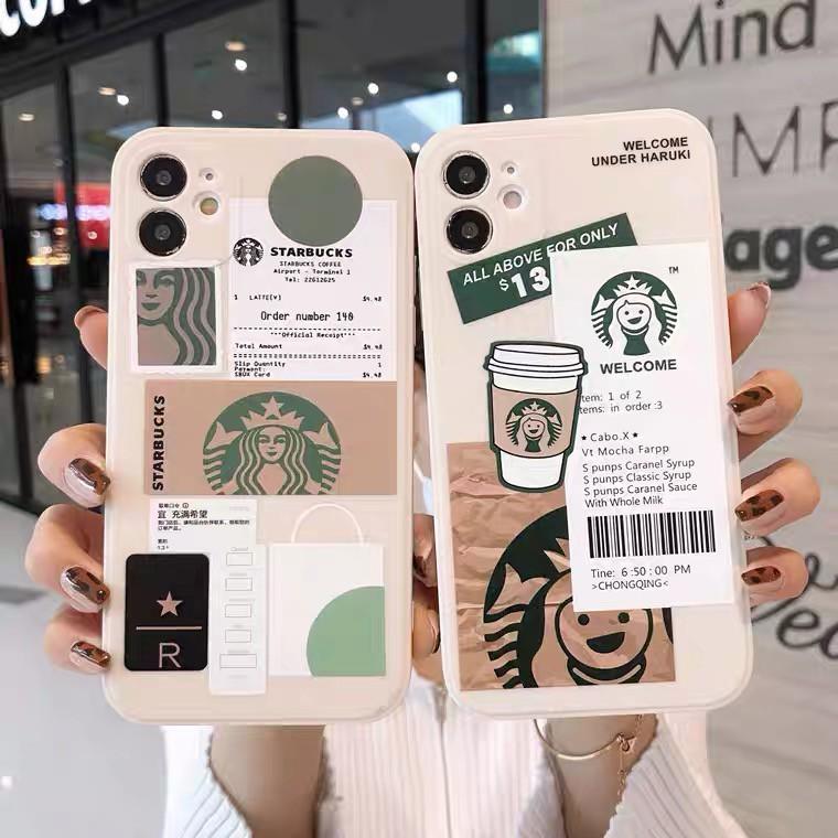 OPPO A3s A5s A5 A7 A5 A9 2020 A1k Soft Case Starbucks Silikon Casing