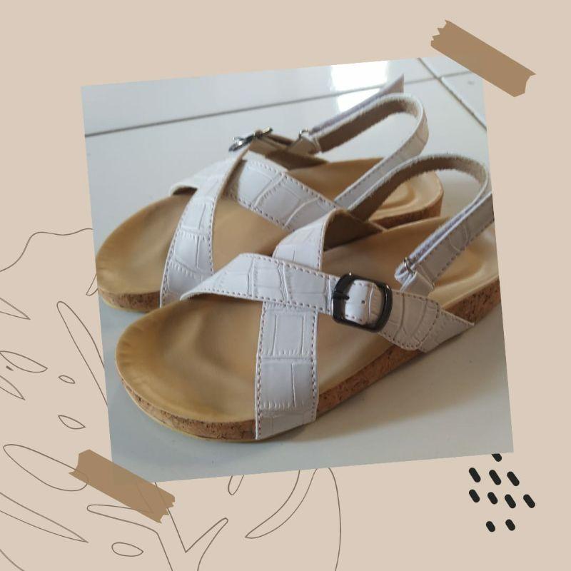 veny Brose – sandal anak cros pink – sandal anak unisex- sandal anak kulit