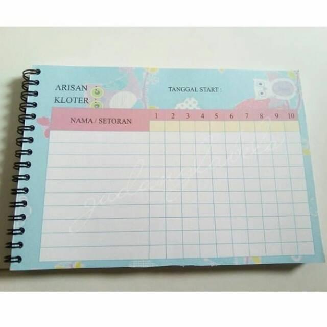 Buku Arisan Shopee Indonesia